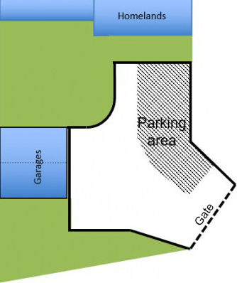 Parking lot diagram